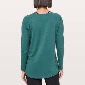 Lululemon Emerald Long Sleeve Top Green Jasper 4